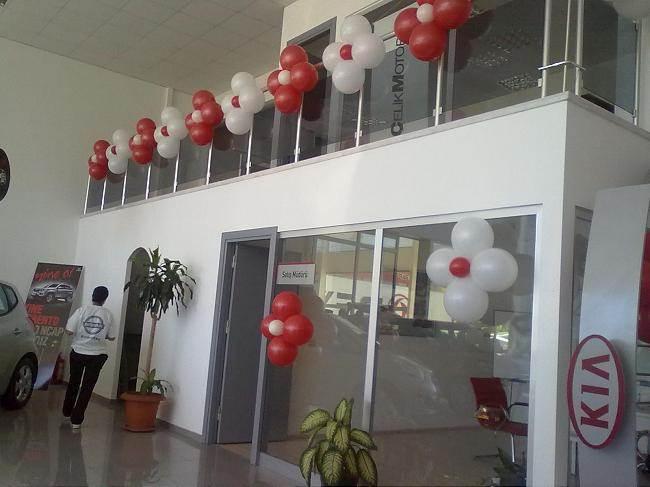 Antalya Çiçek Papatya Balon Süslemesi