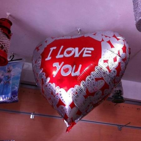 kalp foil folyo balon satışı
