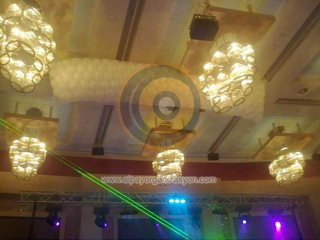 Antalya Dökme Balon Balon Yağmuru
